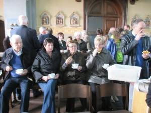 Koffiestop in Sint-Martinuskerk
